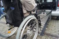 Rampe für Rollstuhl
